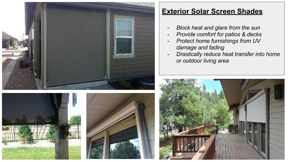 Erie Exterior Shades Post
